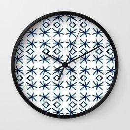 Shibori Watercolour no.2 Wall Clock