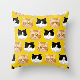 Pockets and Boots Throw Pillow