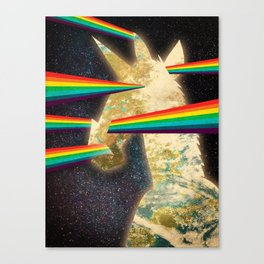 See Hear Smell Taste Rainbows Canvas Print