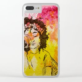 Is It Sunrise Already?  ( Sleepy Fairy ) Clear iPhone Case