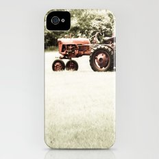 Vintage Red Tractor Slim Case iPhone (4, 4s)