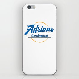 Adrian's Cafe at Coleman iPhone Skin