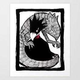 Fumikage Tokoyami Art Print