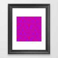 Grandmother's curtain Framed Art Print
