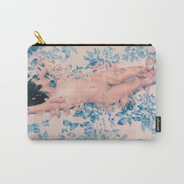 Rose Quartz And Serenity Carry-All Pouch