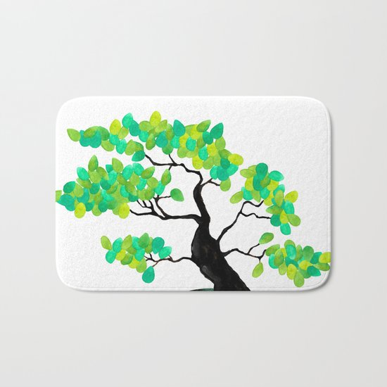 Organic Bonsai Bath Mat