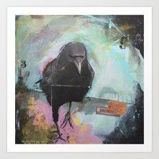 Crow2 Art Print