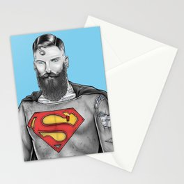 Super Bearded Reeve Stationery Cards