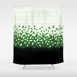 Tech Camouflage 2.0 Shower Curtain
