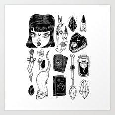 teen Witch Art Print