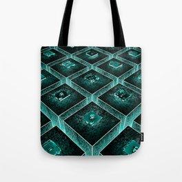 AzTECH Temple Tote Bag