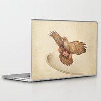 hawk Laptop & iPad Skins featuring Hawk by Terry Fan