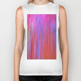 223 - Abstract colour texture design Biker Tank