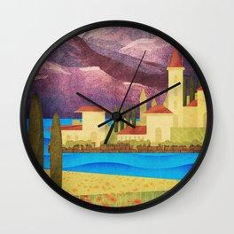 Italy Lombardy Wall Clock