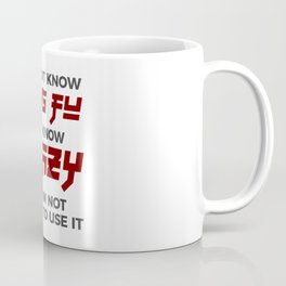 Crazy Kung Fu Funny Martial Arts Dare Coffee Mug