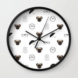oxfords, not brogues Wall Clock