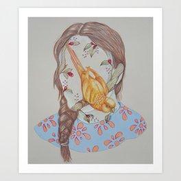 Autorretrato Art Print