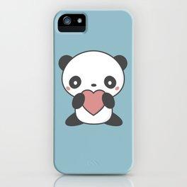 Kawaii Cute Panda Bear iPhone Case