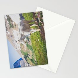 Goat Series, III Stationery Cards