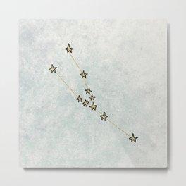 Taurus x Astrology x Zodiac Metal Print
