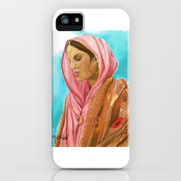 Punjabi Beauty iPhone Case