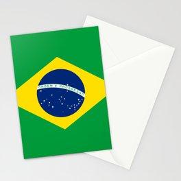 Brazil Flag Stationery Cards