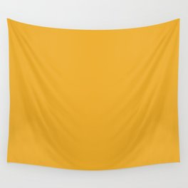 Best Seller Bright Golden Yellow Inspired Coloro Mellow Yellow 034-70-33 Wall Tapestry