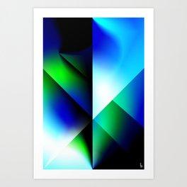 Astro Shield Art Print