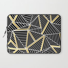 Ab Lines 2 Gold Laptop Sleeve