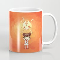 always sunny Mugs featuring Sunny by Freeminds