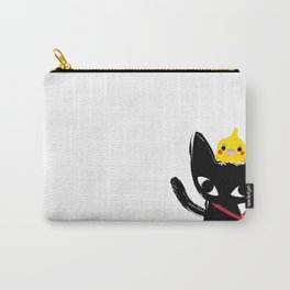 Yeux Du Chat Noir Carry-All Pouch