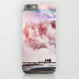Hot Spring Silhouettes iPhone Case