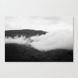 Cortona Clouds Canvas Print