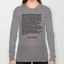 Crew of One Long Sleeve T-shirt