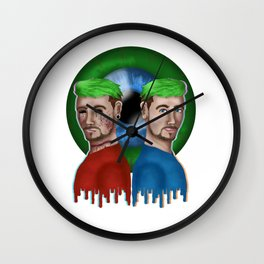 Jack and Anti Wall Clock