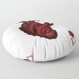 Ace of Hearts Floor Pillow