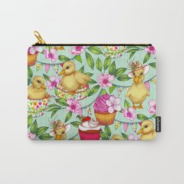 Ducklings' Spring Picnic Carry-All Pouch