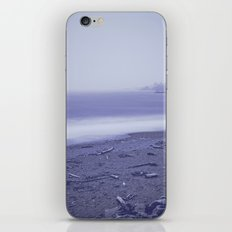 Blue Ocean Waves - Sea Beach Dawn in Oregon iPhone & iPod Skin