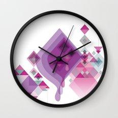 Abstract illustrations Wall Clock