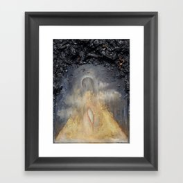 Kenosis (Birth from an Eclipse) Framed Art Print