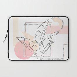 Tropical minimal Laptop Sleeve