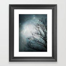 Star Storm Framed Art Print