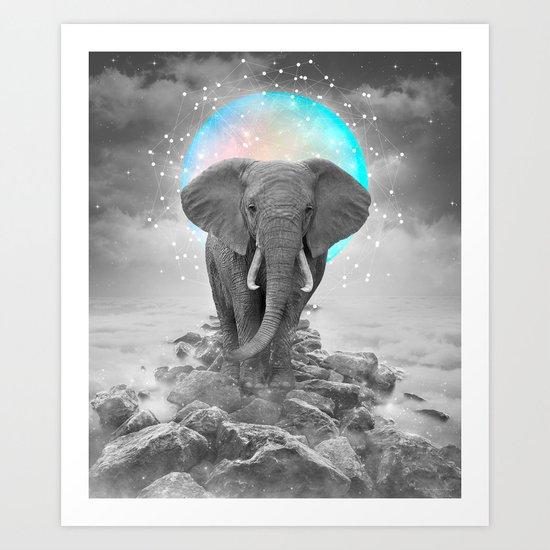 Strength & Courage Art Print