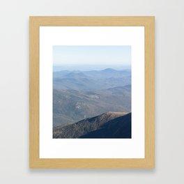 New Hampshire - Long Framed Art Print
