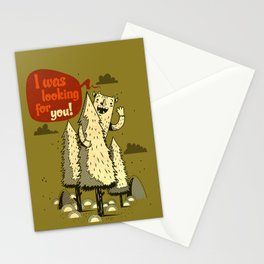 The Woods Monster. Stationery Cards