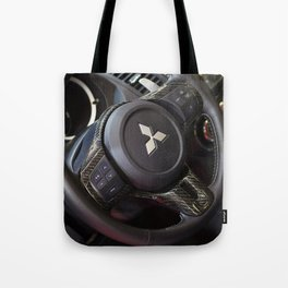 Mitsubishi Lancer Evolution X Wheel Tote Bag