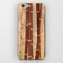 Vintage Bamboo Design #buyart #society6 iPhone Skin
