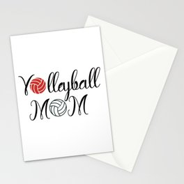 Volleyball Mom Shirt, Volleyball Shirt, Volleyball Mama, Game Day Shirt, High School Volleyball Stationery Cards