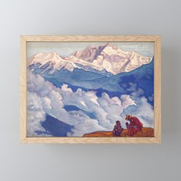 Nicholas Roerich - Pearl Of Searching - Digital Remastered Edition Framed Mini Art Print
