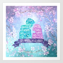 Life and Love According to Covinsky. To All the Boys I've Loved Before Art Print